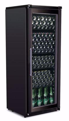 Wijnkast - BACCHUS VISION 60 Zwart LED - Framec